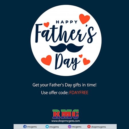 Nueva York, Estado de Nueva York: FATHER'S DAY SPECIAL | 15% OFF + FREE SHIPPING  Get your Father's Day gifts in time! | Use offer code: FDAYFREE Father's Day will be here soon! If you're looking for the perfect gift, we've got you covered. Choose from precious to semi-precious, beads to Matched Pair/Sets, Exclusive Collections and much more.  And for a limited time, spend $49 or more and get 15% off PLUS free shipping!  Use offer code: FDAYFREE  https://shoprmcgems.com/
