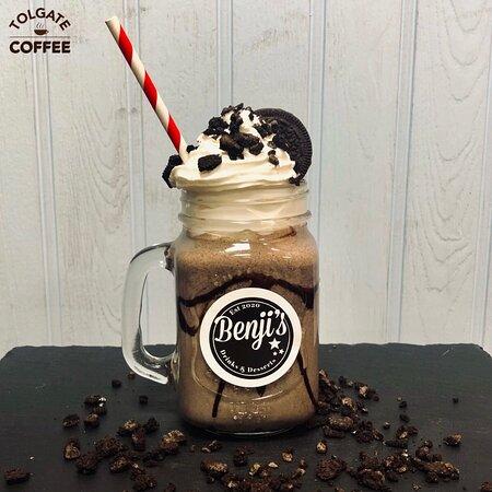 Benji's Drinks Oreo milkshake