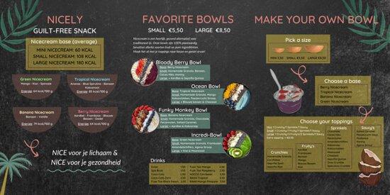 Dit is onze menu.