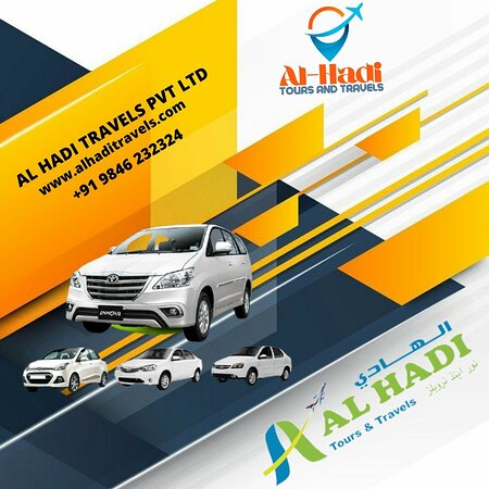 Kochi, Índia:  Al hadi taxi service is a leading Kerala Tourist Taxi Service. We offer the best Kerala Tourist Taxi Service with professional trained drivers. At Al hadi taxi service, we offer you complete freedom to choose your own travel plan. Our Kerala Taxi Service guarantees you the best travel experience than others in Kerala. We give complete freedom to choose your favorite from our list of tourist cabs and guarantees you a hassle free journey throughout your tour.