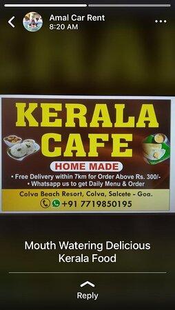 Kerala Cafe Colva