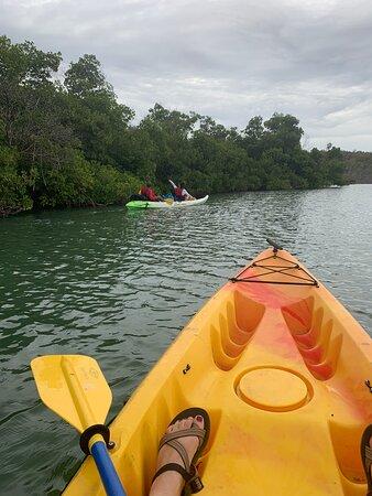 Sit-upon kayaks