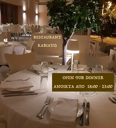 Full a la carte ~ fresh pasta, risotto, wood-oven pizza, fresh fish, seafood, sushi, fillet steaks.