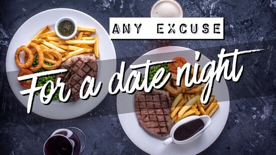 🥩 🍷 Did someone say date night? 🥩 🍷  Your favourite offer is back! Any two steaks* and a bottle of Hardys just £23! 😃 You can choose from the following: ➡️ 8oz Sirloin Steak  ➡️ 10oz Rump Steak  ➡️ 10oz Gammon Steak  ➡️ Mixed Grill ➡️ Rack of BBQ Ribs  Book your table online 📲 or call 📞 we also accept walk ins 😃  #WeAreMarstons #SteakNight #DateNight #SupportYourLocal