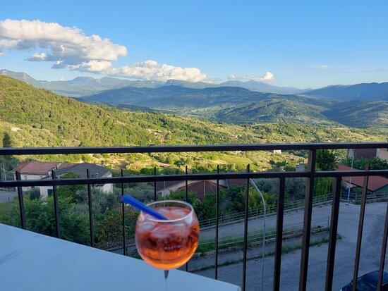 Aquara, Italia: Aperol Spritz