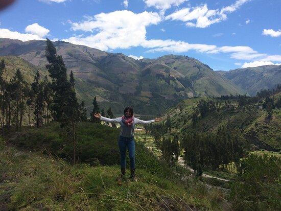 Penipe, Ecuador: vista hermosa rodeada de nevados