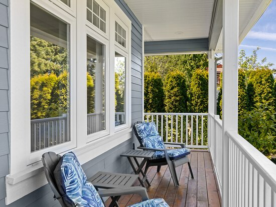 Front Veranda - For Guest Use. Overlooking Gardens and Beyond.