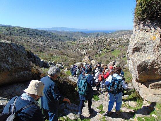 Tinos hiking