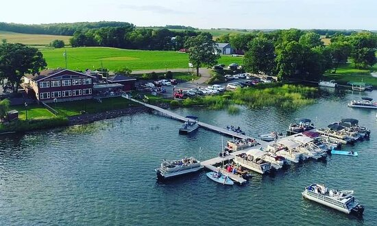 Aerial view of Grand Lake Grill