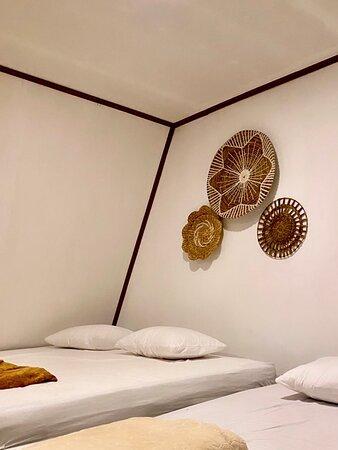 kamar Tipe Ranting Room pada Kulik Kayu Resort Mandeh, Sumatra Barat  (Penginapan Mandeh)