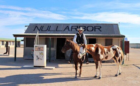 Nullarbor, Australia: The old Nullabor Roadhouse.