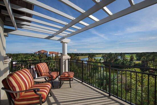 Two-Bedroom Villa - Balcony/Patio