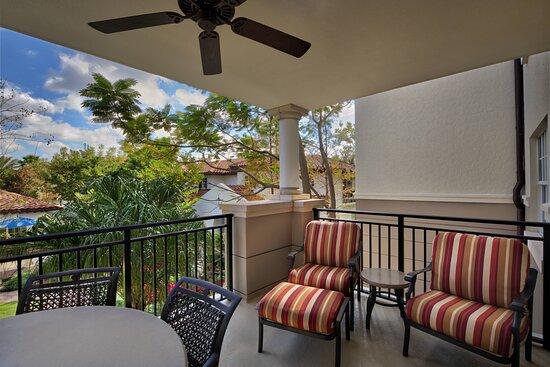 Two & Three-Bedroom Villa - Balcony