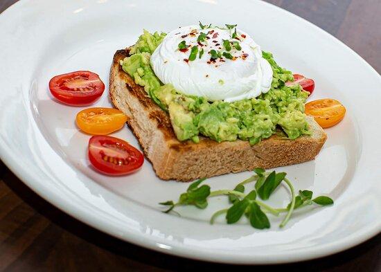 One of the vegetarian breakfast