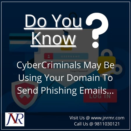 New Delhi, India: Before You Click, Make Sure You Pay Close Attention... Stop cybercriminals from using your domain to send Phishing Emails with JNR Management ! Our Website: https://www.jnrmr.com Call us @ +91–9811030121 #phishingattack #emailsecurity #emailspoofing #phishingscams #phishingemails #itsecuritysolutions #itsecurity #itservices #cybersecurity #itsecuritybestpractices #staysafeonline #staysafestayhome #jnrmanagement