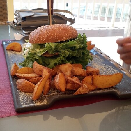 Mrs.B's Gourmet Bacon Burger