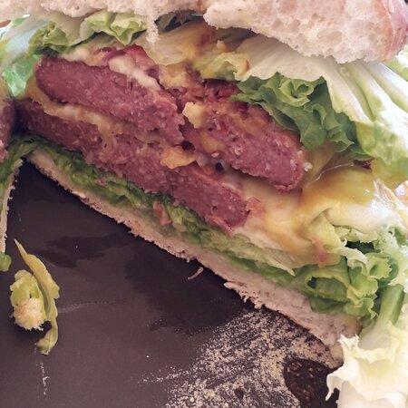 My Double Bacon Burger