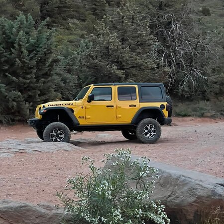 Red Rock Rubicon Jeep Rentals