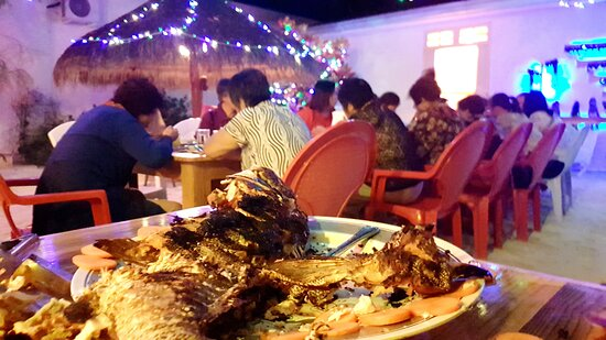Dinner for Divers on Rasreef Rasdhoo Maldives