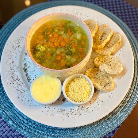 Sopa de legumes!!!