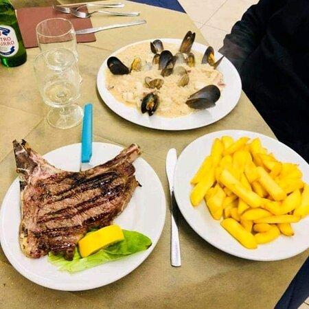 Padula, Italien: Alcuni piatti
