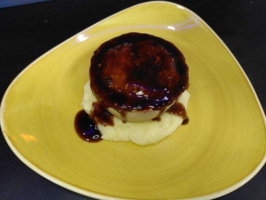 Pieminister Pie, mash and gravy