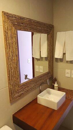 Banheiro suite Jardim