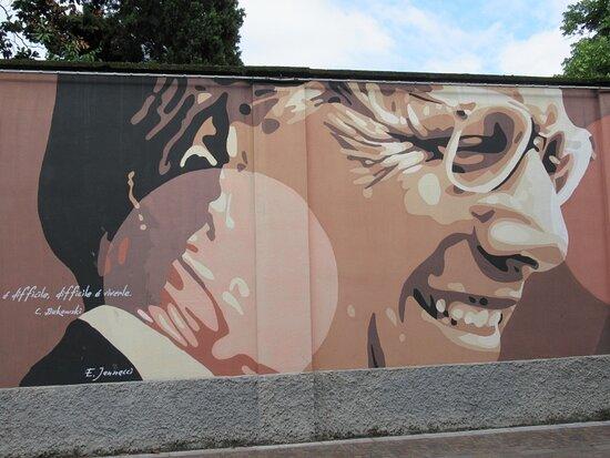 Street Art in Piazza Cardinal Ferrari