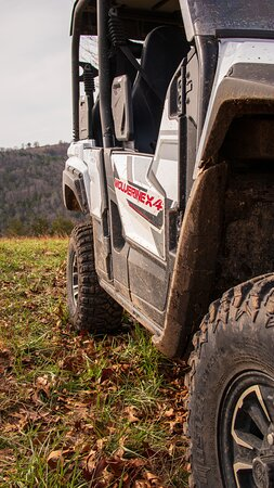 Might get a little mud on the tires