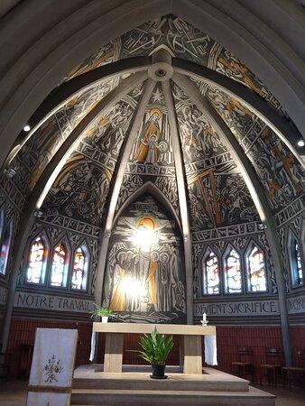 Choeur de l'église Notre Dame des mines