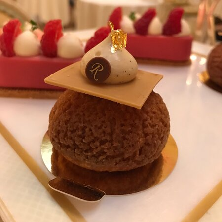 Amazing afternoon tea at the Ritz ( won't need to eat for days!)