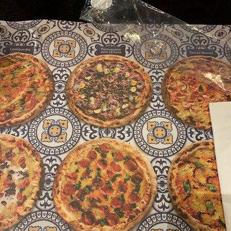 Pizza nota 1.000 mil !!! Fomos