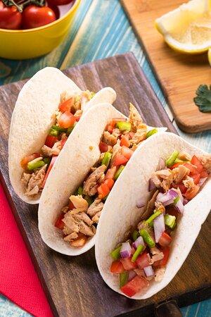 Chipotle Chicken Tacos (Halal)