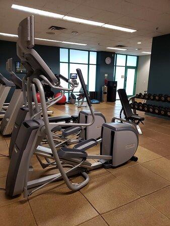 Fitness Center Entering