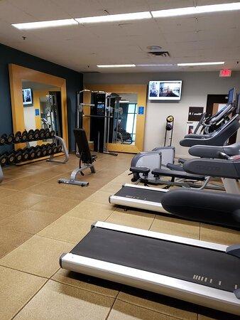Fitness Center Entry