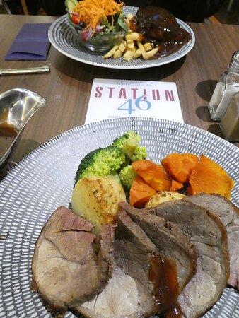 Euston, Úc: Dinner at Station 46