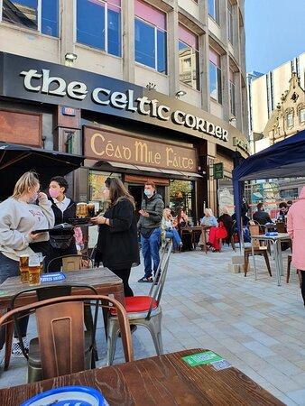 The Celtic Corner Pub in Ropewalks District