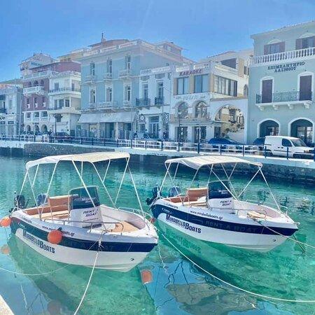 Agios Nikolaos, Greece: ..Freedom is just an anchor away.. . . #summer 2021 #rentaboat #fishingtrips Mirabello Boats