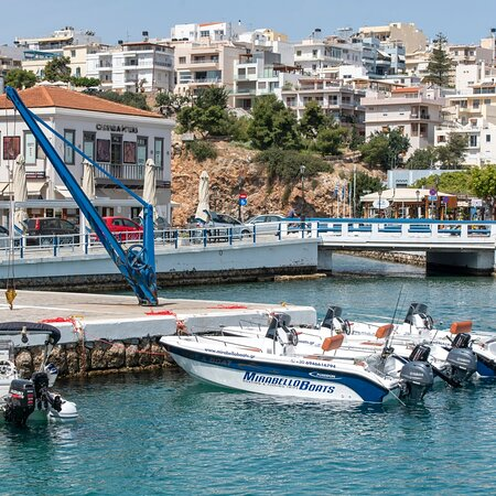 Agios Nikolaos, Greece: Our base...