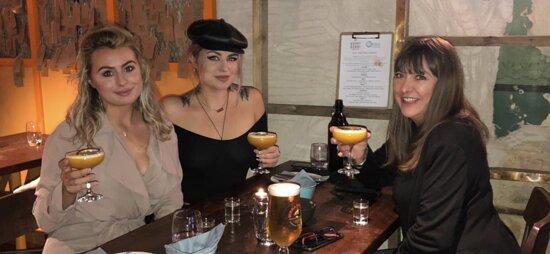 Cocktails at Orbis Stamford