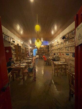 Lugar charmoso, comida super original e gostosa !