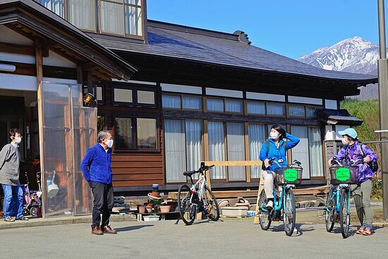 Cycling and Food Tour with Guide from Akita