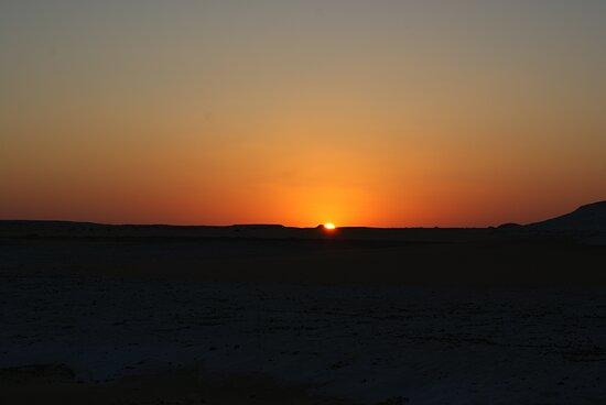 4-Day White Desert Camping Trip from Cairo: White desert - Sunset - 2017