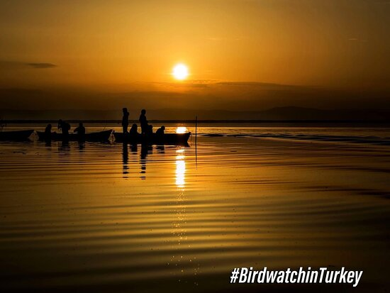 Afyonkarahisar Province, Turkey: 🚣♀️🦆 We can't get enough of these fascinating sunsets. A home of 146 bird species, Eber Lake is one of the best places for birdwatching and nature exploration. #BirdwatchinTurkey 