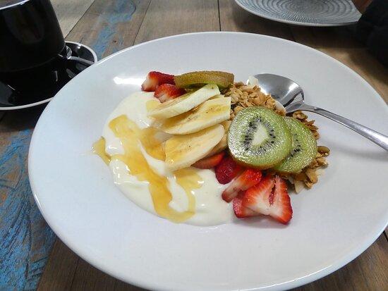 Robinvale, Úc: Breakfast at Loft 13