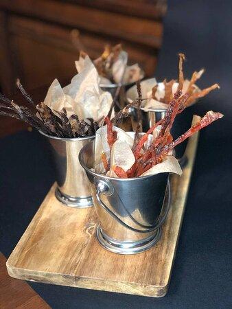 Фирменные Джерки из разных видов мяса, птицы и рыбы