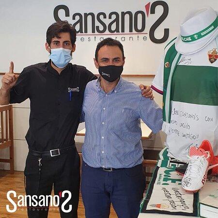 Desde Restaurante Sansano's queremos animar a nuestro @elchecf y enviarle toda la fuerza para su partido en la lucha por la permanencia 💪 MUCHO ELCHE 🟢⚪️ ☎️ 𝟗𝟔𝟔 𝟔𝟑 𝟐𝟔 𝟕𝟒 😁 👉 𝐰𝐰𝐰.𝐫𝐞𝐬𝐭𝐚𝐮𝐫𝐚𝐧𝐭𝐞𝐬𝐚𝐧𝐬𝐚𝐧𝐨𝐬𝐞𝐥𝐜𝐡𝐞.𝐜𝐨𝐦 #restauranteelche #sansanos #sansanosrestaurante #elchecf #vamoselche