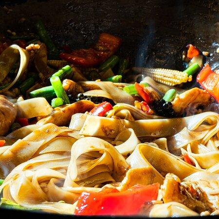 Fresh Drunken Noodles - authentic Thai Food