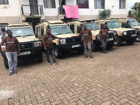 Arusha, Tanzania: Vehicles we are using for Safaris in Tanzania