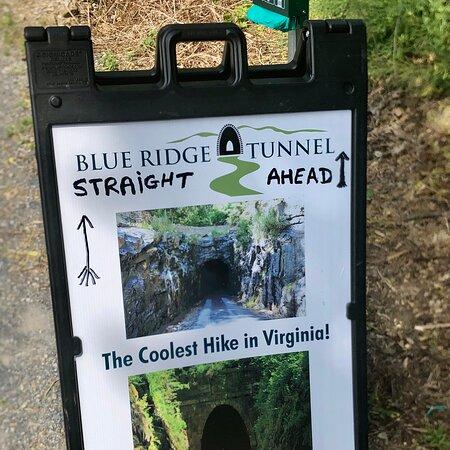 Blue Ridge Tunnel East Trailhead